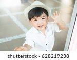 Portrait Of Little Boy Smilin...