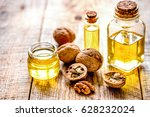 cosmetic and therapeutic walnut ... | Shutterstock . vector #628232024