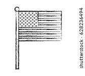 united states of america flag | Shutterstock .eps vector #628236494