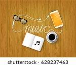 illustration graphic design of... | Shutterstock .eps vector #628237463