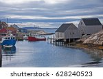 Peggy\'s Cove. A Rustic Fishing...