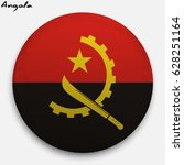round glossy button with flag... | Shutterstock .eps vector #628251164
