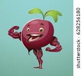 vector cartoon image of a... | Shutterstock .eps vector #628256180