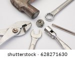labor day background   blank... | Shutterstock . vector #628271630