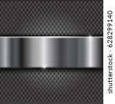 metal perforated background... | Shutterstock . vector #628299140