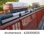 bridges and two 2 high speed... | Shutterstock . vector #628300820