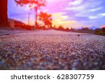 walkway stone in the park and...   Shutterstock . vector #628307759