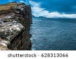 Coastline With Ocean And Rocks