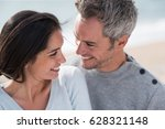 portrait of a middle aged...   Shutterstock . vector #628321148