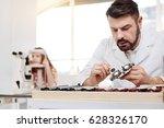 careful dedicated optician...   Shutterstock . vector #628326170