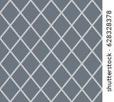 rhombus seamless pattern. gray... | Shutterstock .eps vector #628328378