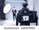 closeup view of professional... | Shutterstock . vector #628329056