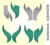 vector security logo template... | Shutterstock .eps vector #628343258