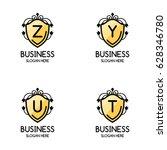 set of 4  creative yellow
