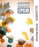 Autumn Background  Eps10