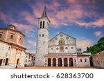 Spoleto  Umbria  Italy  The...