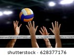 Volleyball Spike Hand Block...