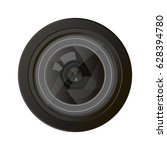 camera photo lens equipment...   Shutterstock .eps vector #628394780