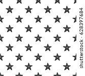 starfishpattern seamless in...   Shutterstock .eps vector #628397684