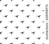 ornithopod dinosaur pattern...   Shutterstock .eps vector #628398974