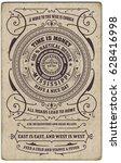 label design vector antique... | Shutterstock .eps vector #628416998