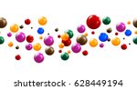 Colorful Glossy Candy Balls On...