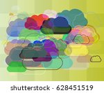fog template elements | Shutterstock .eps vector #628451519