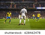 madrid  spain   march 1  in a...   Shutterstock . vector #628462478