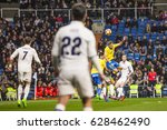 madrid  spain   march 1  in a...   Shutterstock . vector #628462490