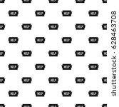 help pattern seamless in simple ... | Shutterstock .eps vector #628463708