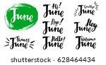 """hello bye  june ""   summer... 