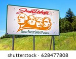Small photo of South Dakota Welcome sign