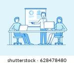 vector illustration in flat... | Shutterstock .eps vector #628478480