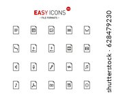 vector thin line flat design...   Shutterstock .eps vector #628479230