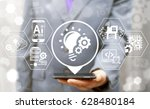 agile development software... | Shutterstock . vector #628480184