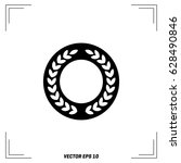 medal icon in trendy flat style ... | Shutterstock .eps vector #628490846