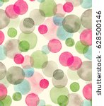 seamless watercolor pattern...   Shutterstock . vector #628500146