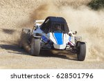 autocross buggy race off road | Shutterstock . vector #628501796
