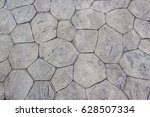 wall from natural stone texture | Shutterstock . vector #628507334
