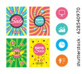 web banners and sale posters.... | Shutterstock .eps vector #628540970