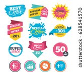 sale banners  online web... | Shutterstock .eps vector #628541570