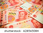 chinese yuan note  rmb or...   Shutterstock . vector #628565084