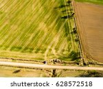 drone image. aerial view of... | Shutterstock . vector #628572518