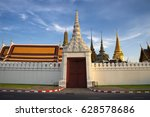 the north wall of grand palace... | Shutterstock . vector #628578686