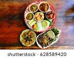 northern food of thailand   Shutterstock . vector #628589420