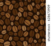 vector seamless background with ... | Shutterstock .eps vector #628673909