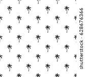 palm tree pattern seamless in...   Shutterstock .eps vector #628676366