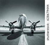 aircraft | Shutterstock . vector #628679444