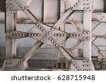 Painted White Metal Bridge...