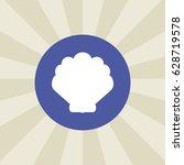 sea shell icon. sign design....   Shutterstock .eps vector #628719578